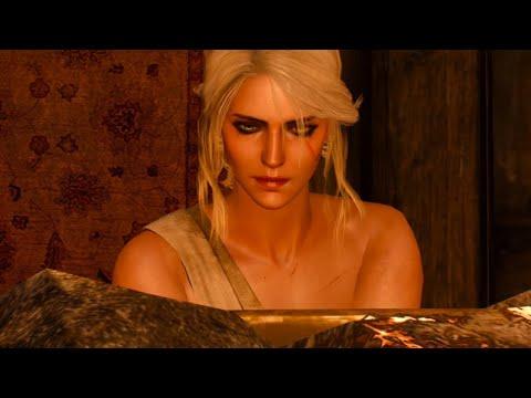 The Witcher 3 - Ciri prefers women ~ Sauna bath