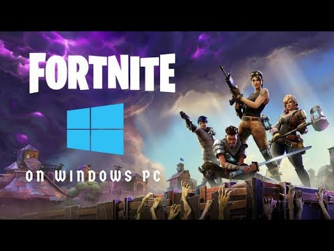 Install Fortnite In Windows PC || Epic Game Launcher