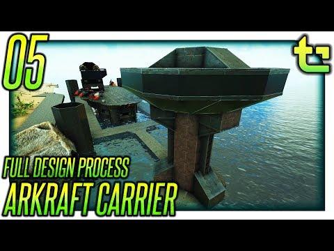 Ark Build || Project - Arkraft Carrier Part 05 || TimmyCarbine