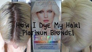 Updated: How I Dye My Hair|Platinum Blonde.