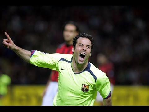 Giuly's goal vs Milan in Champions League semifinal 2005/06