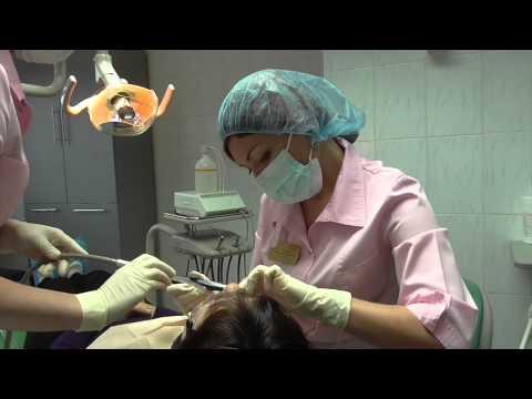 Лечение десен аппаратом Вектор в ГКСП N 1 г. Омска