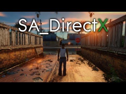 SA_DirectX 2.0 & Insanity Retexture | 2018 | GTA San Andreas