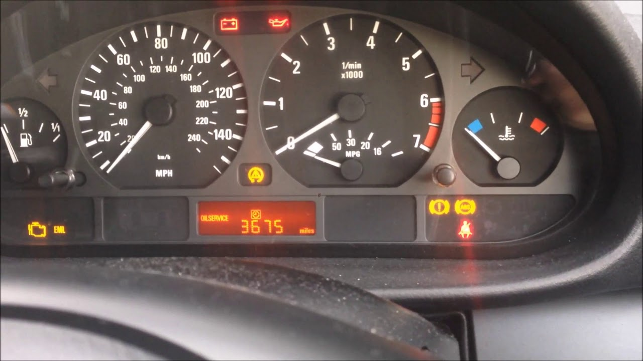 Bmw E46 Three Yellow Brake Warning Indicators When An Abs