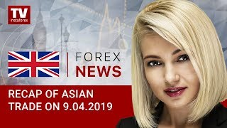 InstaForex tv news: 09.04.2019: Recap of Asian trade: Asian investors regaining risk appetite