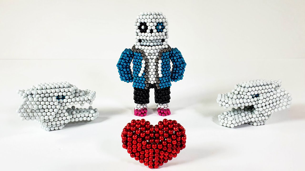Undertale Sans out of magnetic balls 언더테일 샌즈