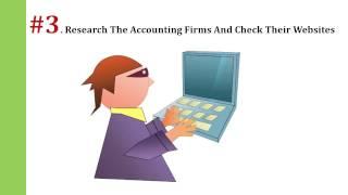 Steps For Hiring An Accountan