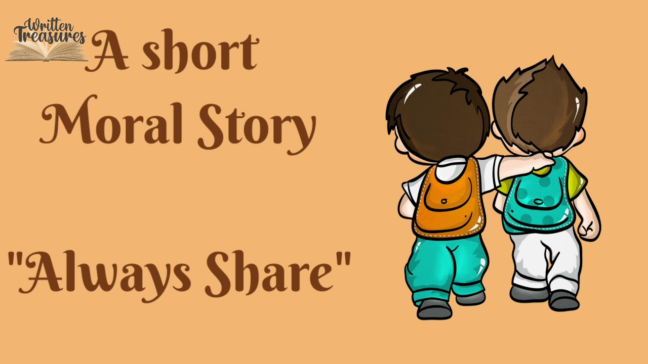 Short Stories | Moral Stories | #sharing | Short Story for kids in English | Sharing is Caring
