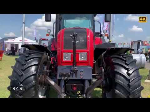 Новые модели тракторов МТЗ Беларус-82, Беларус-1221, Беларус-1523