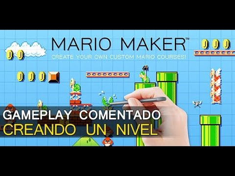 SUPER MARIO MAKER: Creando un Nivel, Vídeo Tutorial