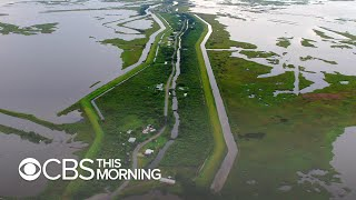 Disappearing Louisiana island could create America's 1st climate change refugees