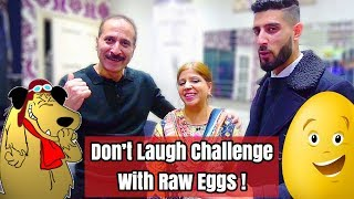 Try Not To Laugh Challenge  Drinking Raw Eggs !! **Hilarious**