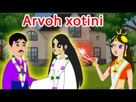 Arvoh xotini | cartoon | Uzbek cartoons | Uzbek fairy tales