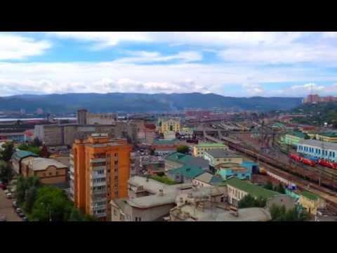 Самый благоустроенный район Красноярска. Железнодорожный район.