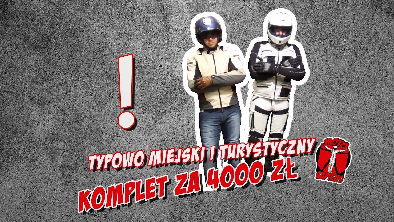 Jak dobrze wydać 4000 zł na motocyklowy komplet turystyczny lub miejski