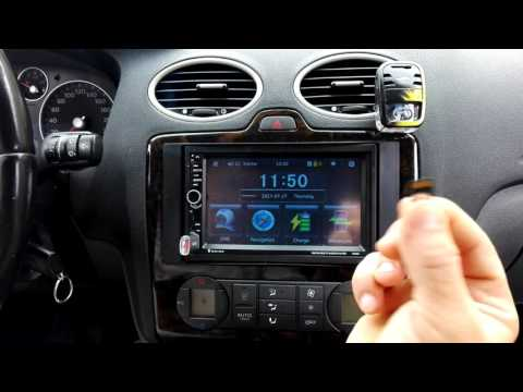 7020G 7 inch Car Audio Stereo MP5 Player GPS System - EUROPEAN