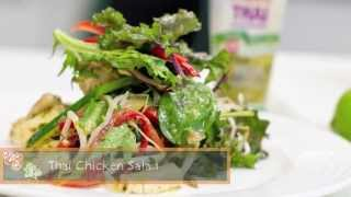 Easy Thai Chicken Salad Recipe- What To Cook