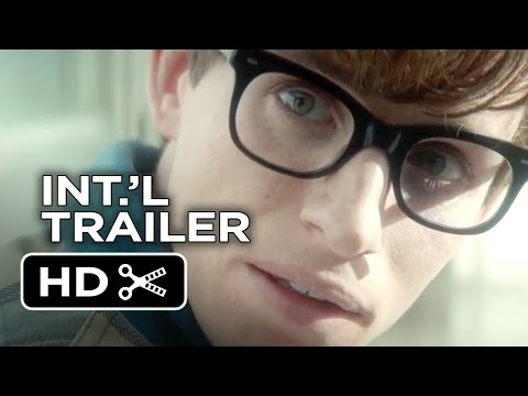 The Theory of Everything Official UK Trailer #1 (2015) - Eddie Redmayne Movie HD