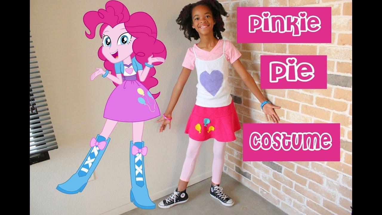 My Pinkie Pie Halloween Costume  sc 1 st  YouTube & My Pinkie Pie Halloween Costume - YouTube