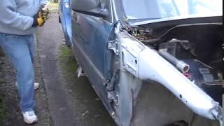 How to remove Honda Civic front door