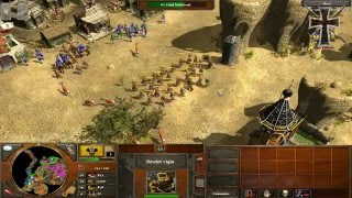 Repeat youtube video Age of Empires III - 1ª Partida Multijugador - Sergio y Fede