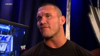 WWE APP EXCLUSIVE RANDY ORTON SENDS A MESSAGE TO CURTIS AXEL