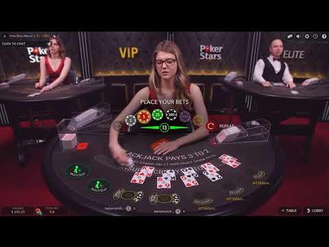 С $600 до ... ??? Онлайн БлэкДжек с живым Дилером!Online BlackJack On PokerStars