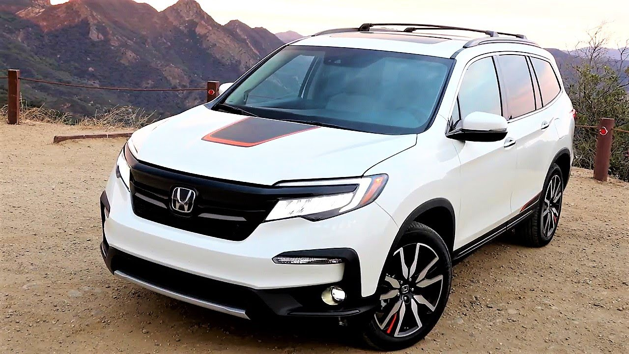 2020 21 Honda Pilot 7 Seater Family Suv 2020 21 Honda Pilot Family Suv Exterior Interior Youtube