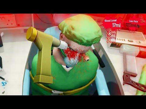 Surgeon Simulator PS4 - THIS IS A BAD IDEA!