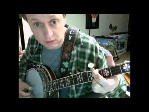 How to play Gentle on My Mind on banjo -  John Hartford