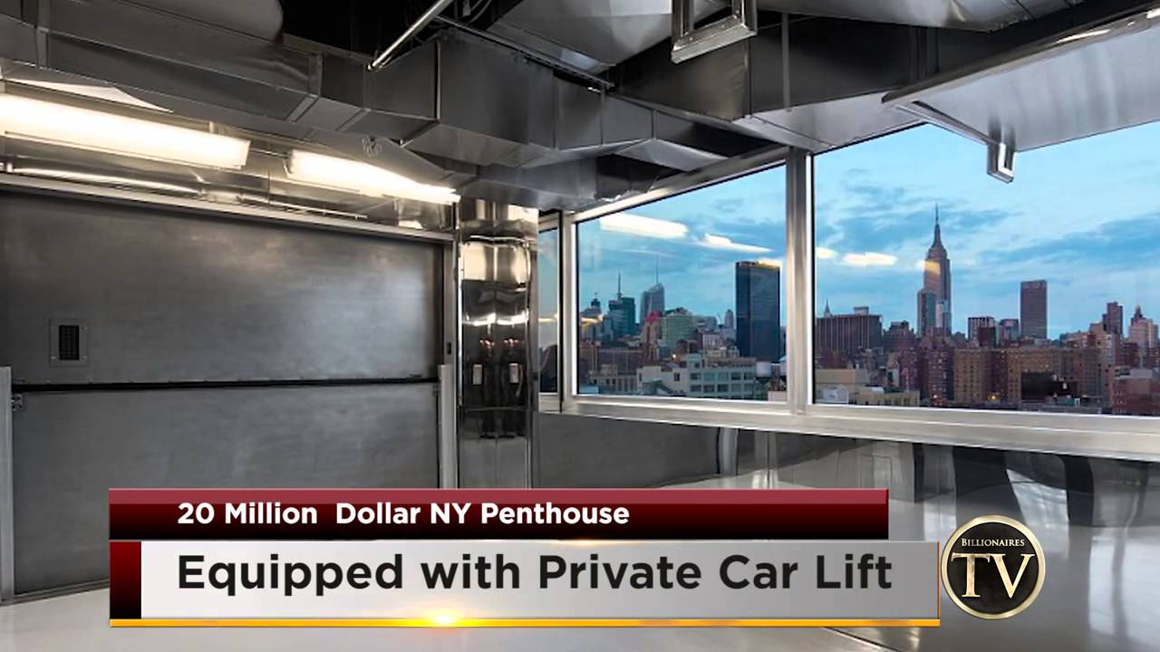 Apartment With Own Car Elevator