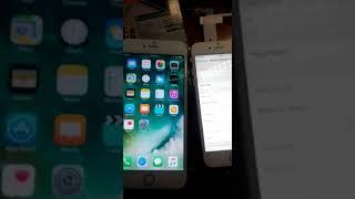 Iphone 6s plus gold pembelian dari deluxe gadge, lcd palsu