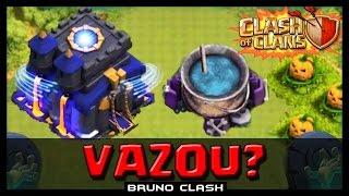 HALLOWEEN UPDATE - VAZOU A ATUALIZAÇÃO DA CLASHCON? - Clash of Clans - Bruno Clash