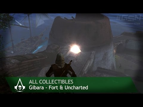 Assassin's Creed 4: Black Flag - Gibara [Forts & Uncharted] (All collectibles)