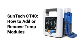 SunTech CT40:  How to Add or Remove Temperature Modules (4 of 9)