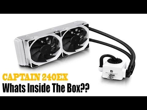 CAPTAIN 240EX WHITE AIO CPU LIQUID COOLER   is it the best?