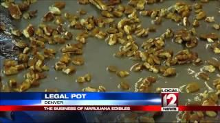 The business of marijuana edibles
