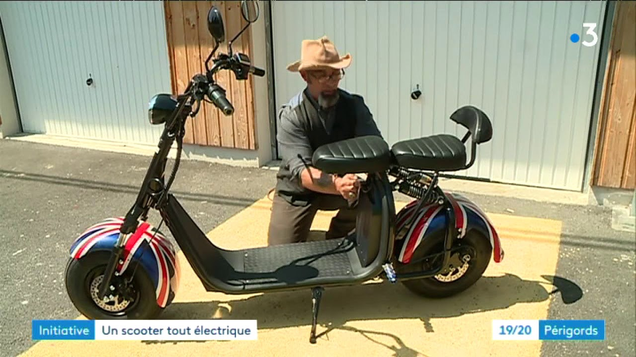 video Scooter électrique Boogy XL