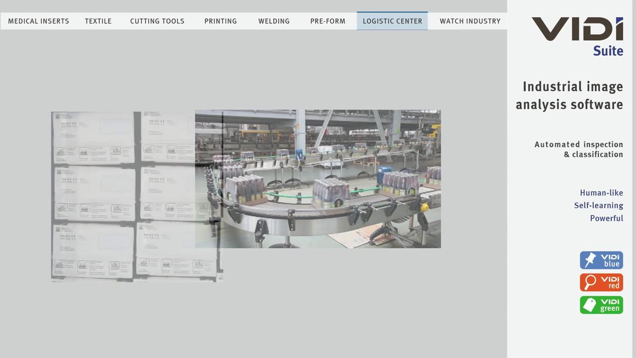 ViDi Suite類神經網路影像處理軟體應用 - YouTube