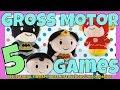 Plush Toys: 5 Gross Motor Games | Motor Planning | Bilateral Integration | Body Awareness