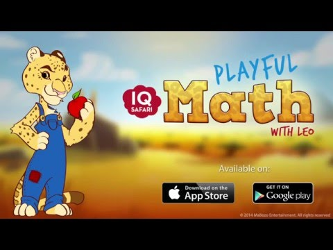 IQ Safari Math - App for Kids