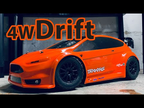 Drift The Traxxas Ford Fiesta Rally - Tuning And Upgrades