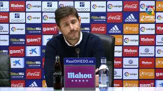 Rueda de prensa de Víctor Sánchez del Amo tras el Real Oviedo vs Málaga CF (1-1)