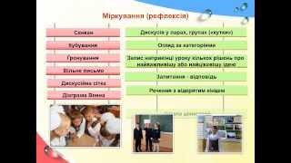 Застосування методів критичного мислення на уроках української мови