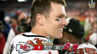 Brady And The Bucs Celebrate After Winning Super Bowl LV 55