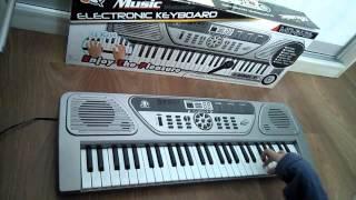 Детский синтезатор. Обзор