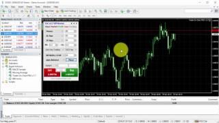 Trader On Chart v1.7 presentation - MT4 App for Forex Trading