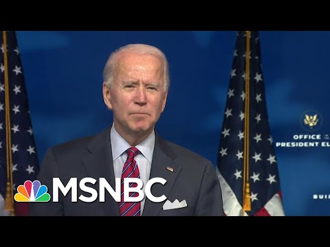 Biden Stresses Urgency To Pass Covid Relief For Americans   MSNBC