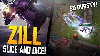 Arena of Valor Gameplay - SLICE AND DICE!! Zill Gameplay