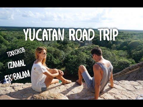 Yucatan road trip I Tixkokob I Izamal I Ek Balam I TRAVEL VLOG I MEXICO (GoMaryandCoco)